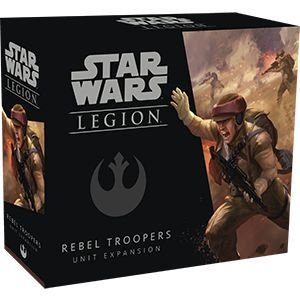 STAR WARS LEGION: TROOPERS REBELDES