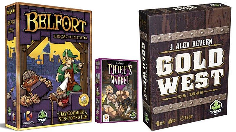 COMBO: BELFORT + THIEFS MARKET + GOLD WEST