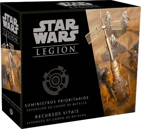 STAR WARS LEGION: RECURSOS VITAIS