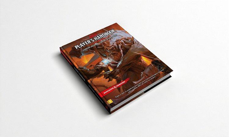 DUNGEONS & DRAGONS 5E: PLAYERS HANDBOOK - LIVRO DO JOGADOR