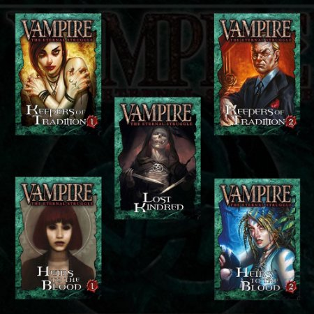 VAMPIRE - CARD GAME (COMBO 5 DECKS)