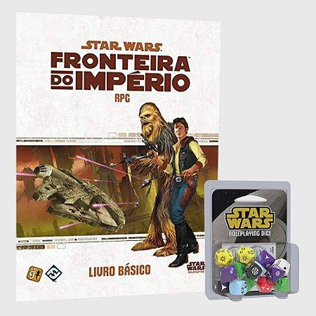 COMBO: STAR WARS RPG: LIVRO BÁSICO + KIT DE DADOS