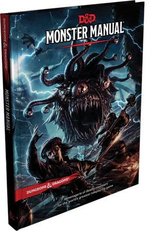 DUNGEONS & DRAGONS 5E: MONSTER MANUAL - LIVRO DOS MONSTROS
