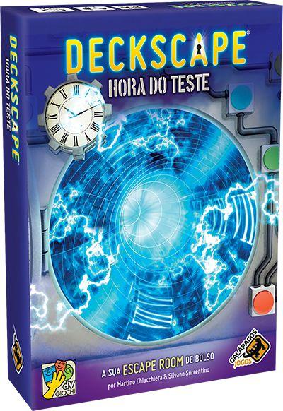 DECKSCAPE: HORA DO TESTE