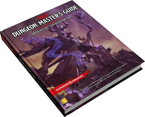 DUNGEONS & DRAGONS 5E: DUNGEON MASTER'S GUIDE - LIVRO DO MESTRE
