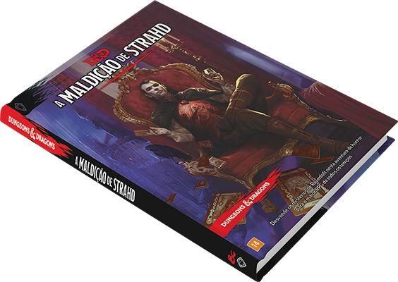 DUNGEONS & DRAGONS 5E: CENÁRIO - A MALDIÇÃO DE STRAHD