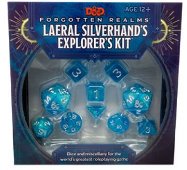 DUNGEONS & DRAGONS: FORGOTTEN REALMS LAERAL SILVERHAND'S EXPLORERS KIT (INGLÊS)