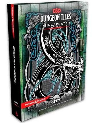DUNGEONS & DRAGONS: DUNGEON TILES REINCARNATED - THE CITY (INGLÊS)