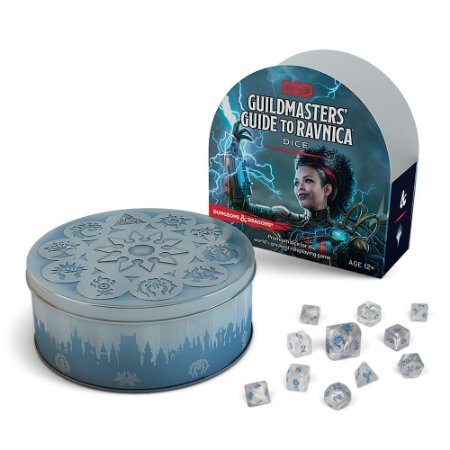 DUNGEONS & DRAGONS - GUILDMASTERS' GUIDE TO RAVNICA DICE (INGLÊS)