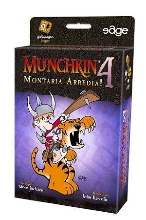 MUNCHKIN 4: MONTARIA ARREDIA!
