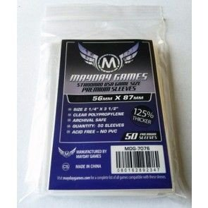SLEEVES MAYDAY USA CARD PREMIUM (56X87) - 50 UNIDADES