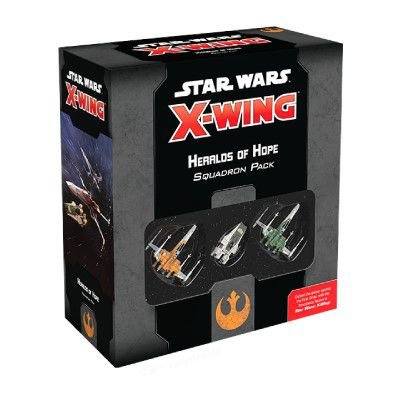 STAR WARS: X-WING 2.0 – HERALDS OF HOPE SQUADRON PACK (PRODUTO EM INGLÊS)