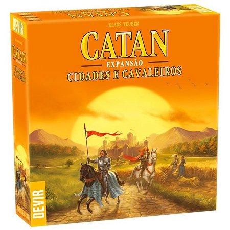 CATAN: CIDADES E CAVALEIROS