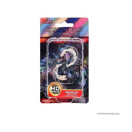 D&D: Icons of the Realms – Premium Figures – Tiefling Male Sorcerer (Em Inglês)