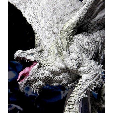 D&D – ICONS OF THE REALMS – WHITE ADULT DRAGON - PREMIUM FIGURES (EM INGLÊS)