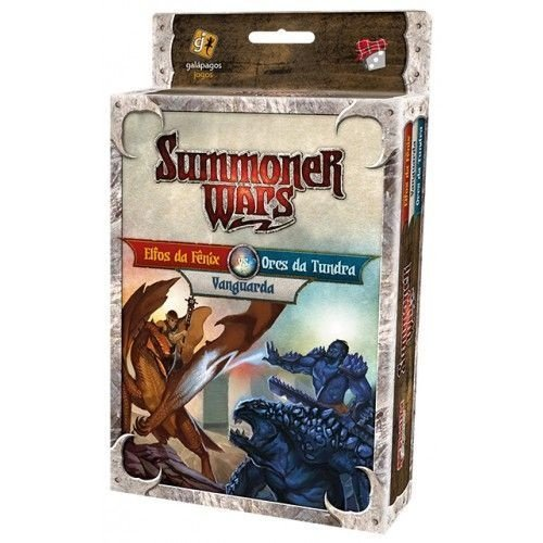 SUMMONER WARS: ELFOS DA FÊNIX VS. ORCS DA TUNDRA