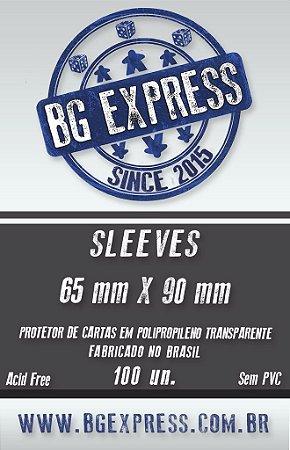 SLEEVES BG EXPRESS 65X90 - 100 UNIDADES