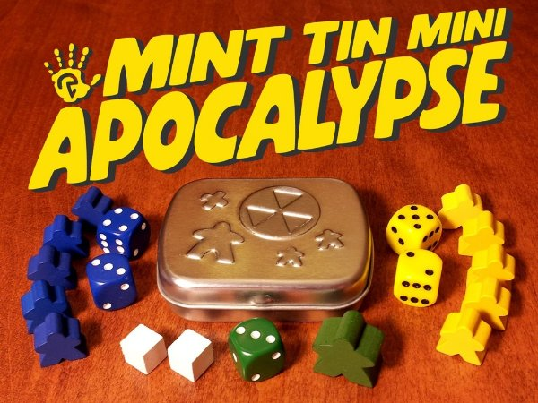 MINT TIN MINI APOCALIPSE