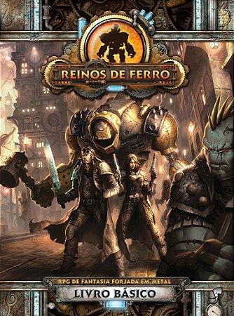 REINOS DE FERRO RPG LIVRO BÁSICO