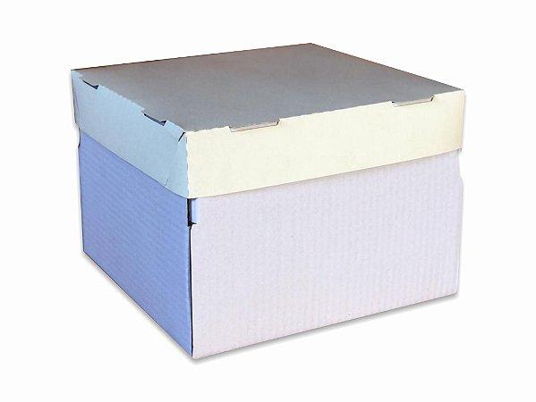 Caixa para Bolo ALTA- 30x30x18cm - 25 unid.