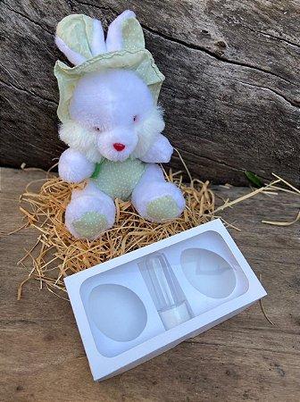 Caixa Páscoa Mini Confeiteiro 2 Ovos de 50g  - 10 unid.