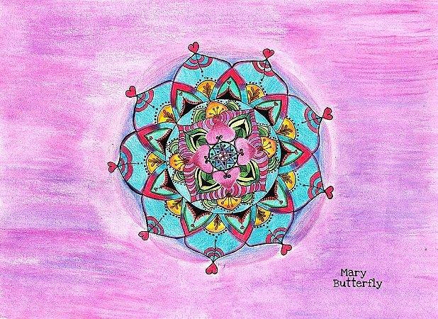 Pôster Mandala do amor