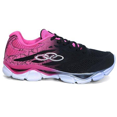 Tênis Olympikus Daily 114 Training Feminino Preto pink