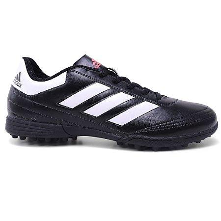 Chuteira Adidas Goletto VI TF AQ4299 Black White