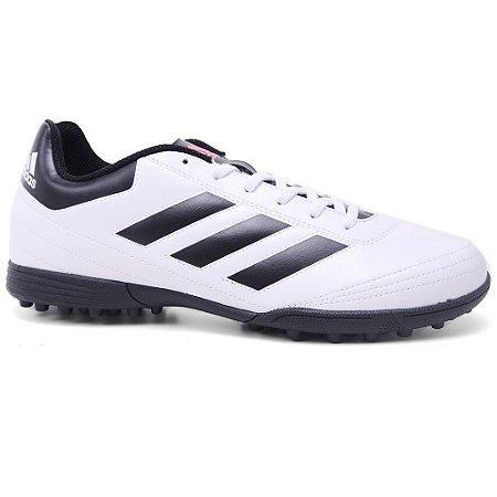 Chuteira Adidas Goletto VI TF AQ4302 White Black