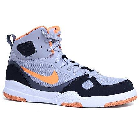 Tênis Nike Son Of Flight 704566 Wolf Grey Preto Laranja