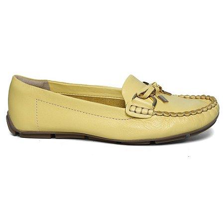 Mocassim Ramarim 15-87206 Maxxi Soft Amarelo ouro