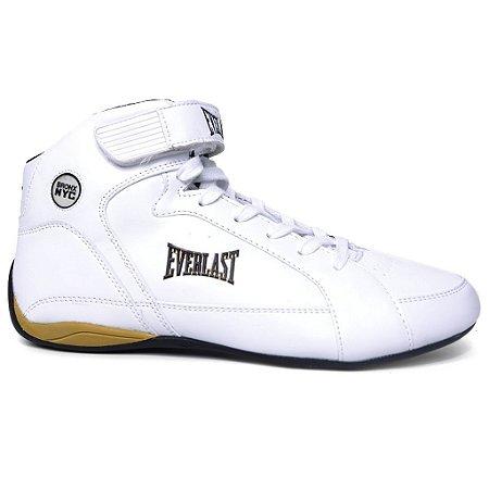 Tênis Everlast Jump ELM 13C Branco Preto Dourado