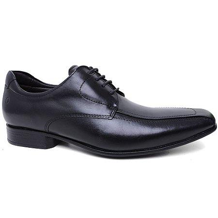 Sapato Democrata Clyde 131107 Social Masculino Couro Preto