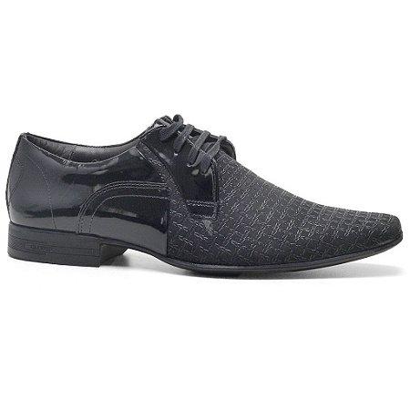 Sapato Calvest 2250B837 Social Masculino Preto
