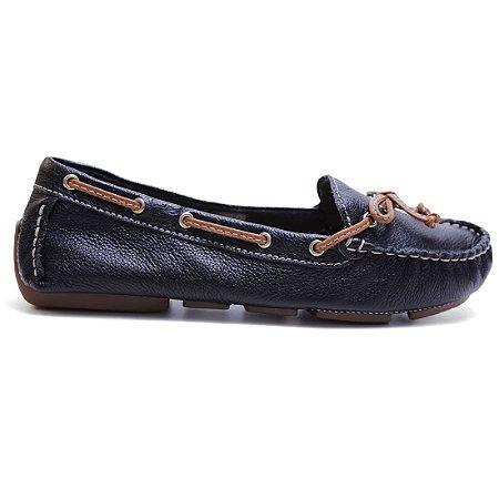 Sapato Bottero 258102 Dockside Feminino Preto Caramelo