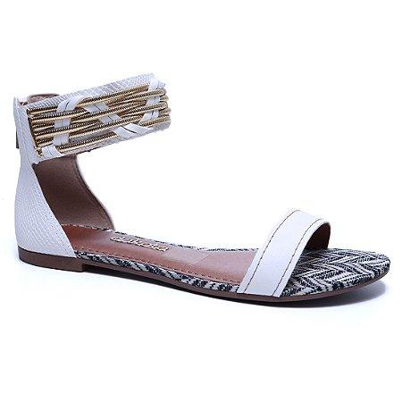 Sandália Dakota Z1193 Rasteira Feminina Branco