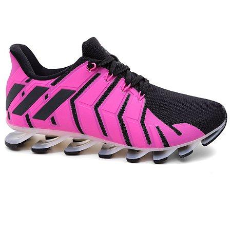 adidas springblade feminino preto e rosa