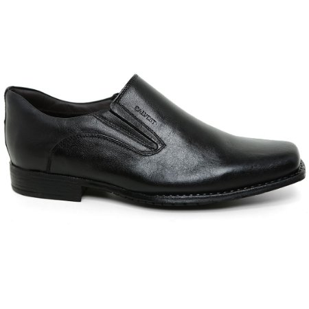 Sapato Calvest 1700B461 Social  Esporte Masculino Preto