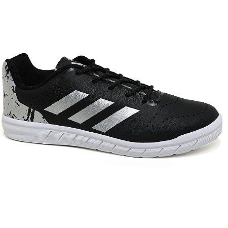 Tênis Adidas Quicksport Junior H68506 Black Silver White Tam 30 ao 36