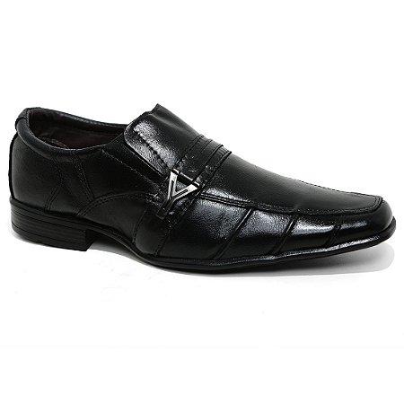 Sapato J.Mathias 4018 Esporte Social Masculino Preto