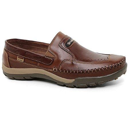 Sapato Tertuliano Mocassim 059 Masculino Caramelo Tabaco