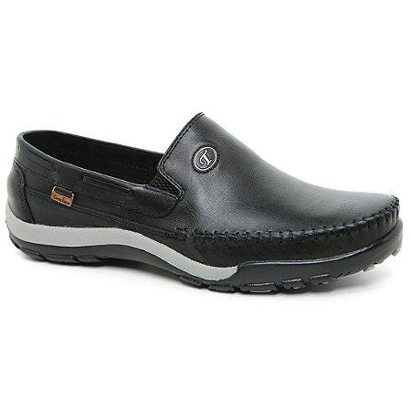 Sapato Tertuliano Mocassim 057 Masculino Preto