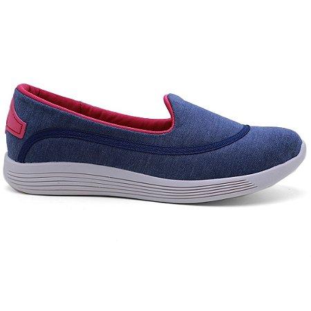 Tênis Beira Rio 4172.100 Casual Conforto Feminino Azul