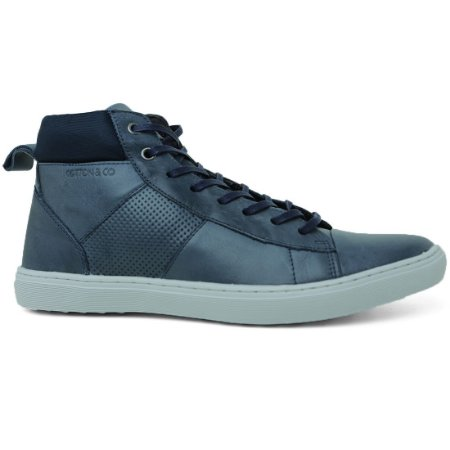 Sapatênis Cotton Shoes 5324 Casual Masculino Cano Alto