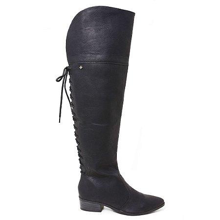 Bota Cravo & Canela Over Knee 143906 Feminina Cano Longo