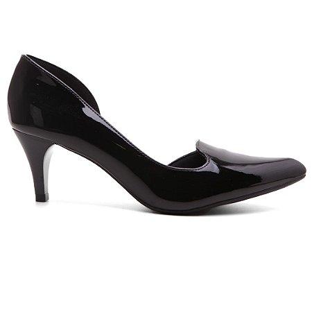 Sapato Scarpin Bebecê 6810-065 Feminino  Verniz Salto Médio