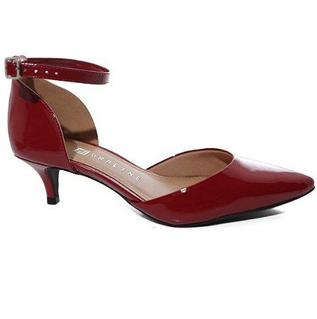 2fe6e45a7e Sapato Off Line 5211.20872 Scarpin Salto Baixo Fino - Calçados ...
