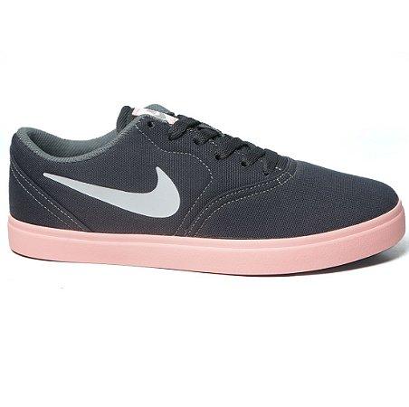 edecff43f Tênis Nike Sb Check Canvas Infantil 905373 - Calçados Femininos ...