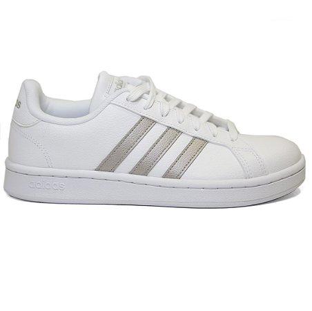 124e93d9b9 Tenis Adidas Grand Court F36485 - Calçados Femininos