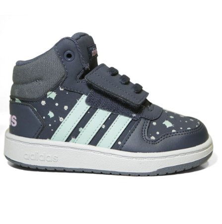 01abcc74d2f Tênis Adidas Infantil Hoops Mid 2.0 B75953 - Calçados Femininos ...